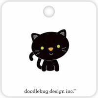 Doodlebug Design - Pumpkin Party Collection - Halloween - Collectible Pins - Midnight