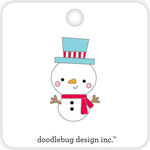 Doodlebug Design - Christmas Town Collection - Collectible Pins - Jack