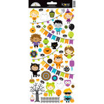 Doodlebug Design - Pumpkin Party Collection - Halloween - Cardstock Stickers - Icons