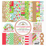 Doodlebug Design - Christmas Town Collection - 12 x 12 Paper Pack