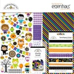 Doodlebug Design - Pumpkin Party Collection - Halloween - Essentials Kit