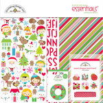 Doodlebug Design - Christmas Town Collection - Essentials Kit