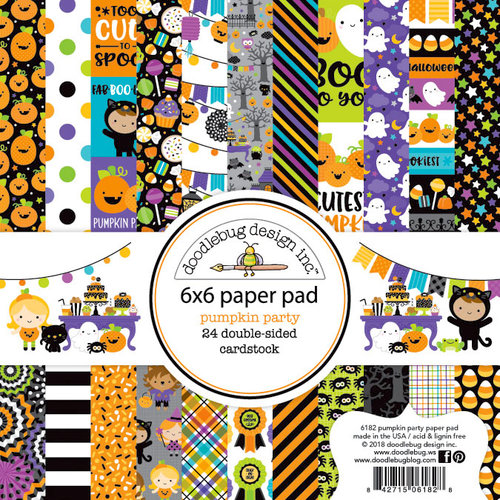 Pumpkin Party Paper Pad