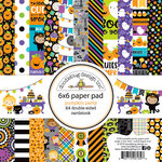 Doodlebug Design - Pumpkin Party Collection - Halloween - 6 x 6 Paper Pad