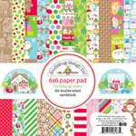 Doodlebug Design - Christmas Town Collection - 6 x 6 Paper Pad