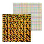 Doodlebug Design - Pumpkin Party Collection - Halloween - 12 x 12 Double Sided Paper - Jack and Friends