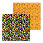 Doodlebug Design - Pumpkin Party Collection - Halloween - 12 x 12 Double Sided Paper - Spooky Sweets