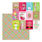 Doodlebug Design - Christmas Town Collection - 12 x 12 Double Sided Paper - Christmas Jammies
