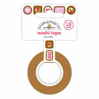 Doodlebug Design - French Kiss Collection - Washi Tape - Tiny Truffles