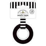 Doodlebug Design - Lots O' Luck Collection - Washi Tape - Tuxedo Stripe