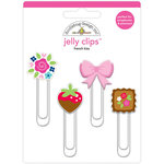 Doodlebug Design - French Kiss Collection - Jelly Clips