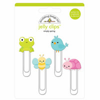 Doodlebug Design - Simply Spring Collection - Jelly Clips