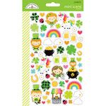 Doodlebug Design - Lots O' Luck Collection - Cardstock Stickers - Mini Icons