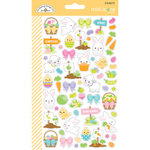 Doodlebug Design - Hoppy Easter Collection - Cardstock Stickers - Mini Icons