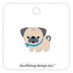 Doodlebug Design - French Kiss Collection - Collectible Pins - Love Pug