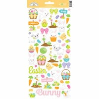 Doodlebug Design - Hoppy Easter Collection - Cardstock Stickers - Icons
