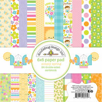 Doodlebug Design - Simply Spring Collection - 6 x 6 Paper Pad