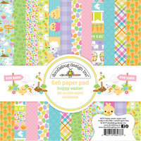 Doodlebug Design - Hoppy Easter Collection - 6 x 6 Paper Pad