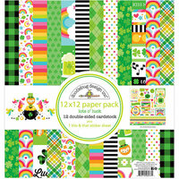 Doodlebug Design - Lots O' Luck Collection - 12 x 12 Paper Pack