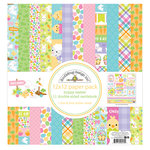 Doodlebug Design - Hoppy Easter Collection - 12 x 12 Paper Pack