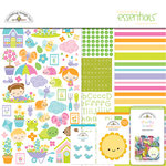 Doodlebug Design - Simply Spring Collection - Essentials Kit