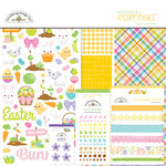 Doodlebug Design - Hoppy Easter Collection - Essentials Kit