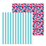 Doodlebug Design - French Kiss Collection - 12 x 12 Double Sided Paper - French Cafe