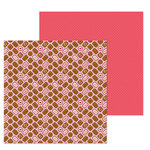 Doodlebug Design - French Kiss Collection - 12 x 12 Double Sided Paper - Bonbons