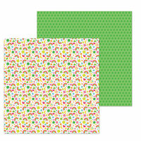 Doodlebug Design - Lots O' Luck Collection - 12 x 12 Double Sided Paper - So Charming