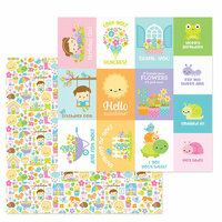 Doodlebug Design - Simply Spring Collection - 12 x 12 Double Sided Paper - Simply Spring