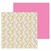 Doodlebug Design - Simply Spring Collection - 12 x 12 Double Sided Paper - Bright Bunch
