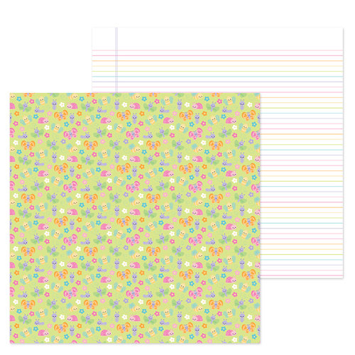 Doodlebug Design - Simply Spring Collection - 12 x 12 Double Sided Paper - Bloomin