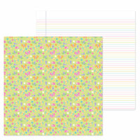 Doodlebug Design - Simply Spring Collection - 12 x 12 Double Sided Paper - Bloomin' Bugs