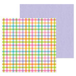 Doodlebug Design - Simply Spring Collection - 12 x 12 Double Sided Paper - Playful Plaid