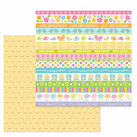 Doodlebug Design - Simply Spring Collection - 12 x 12 Double Sided Paper - Sweet Sunshine