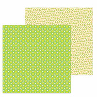 Doodlebug Design - Simply Spring Collection - 12 x 12 Double Sided Paper - Hoppy Spring