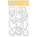 Doodlebug Design - Hoppy Easter Collection- Metal Dies - Hoppy Easter