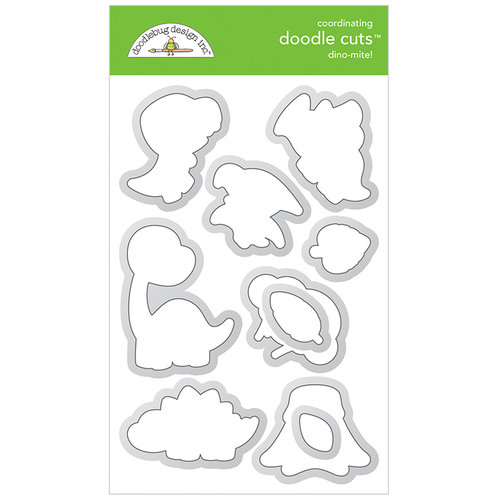 Doodlebug Design - So Much Pun Collection - Metal Dies - Dino-mite!