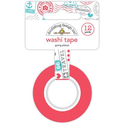 Doodlebug Design - I Heart Travel - Washi Tape - Going Places