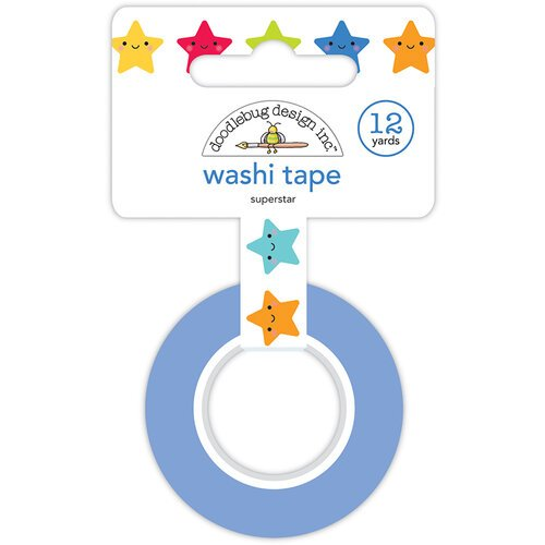 Doodlebug Design - School Days - Washi Tape - Super Star