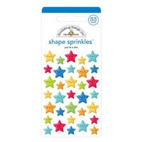 Doodlebug Design - School Days - Sprinkles - Self Adhesive Enamel Shapes - You're A Star