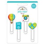 Doodlebug Design - I Heart Travel - Jelly Clips