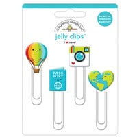 Doodlebug Design - I Heart Travel - Jelly Clips