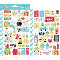 Doodlebug Design - I Heart Travel - Cardstock Stickers - Icons - Mini