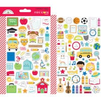 Doodlebug Design - School Days - Cardstock Stickers - Icons - Mini