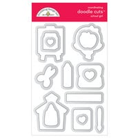 Doodlebug Design - School Days - Doodle Cuts - Metal Dies - School Girl