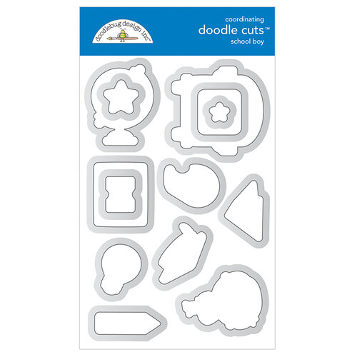 Doodlebug Design - School Days - Doodle Cuts - Metal Dies - School Boy