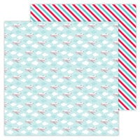 Doodlebug Design - I Heart Travel - 12 x 12 Double Sided Paper - Fly Away