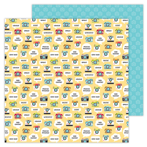 Doodlebug Design - I Heart Travel - 12 x 12 Double Sided Paper - Picture This