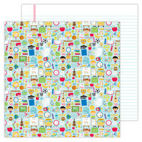 Doodlebug Design - School Days - 12 x 12 Double Sided Paper - School Days